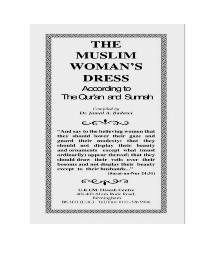 The Muslim Woman's Dress According to The Quran and Sunnah