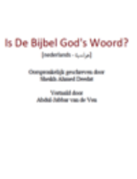 Is De Bijbel God's Woord?