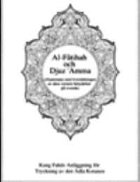 Translation of the Meaning of Surat AlFatiha in Swedish