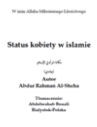 Status kobiety w islamie