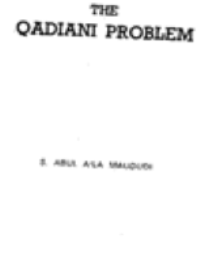The Qadiani Problem