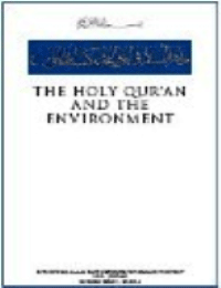 The Holy Quran and the Environment
