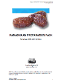 Ramadan Preperation Course Pack