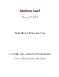 Mutiara Salaf