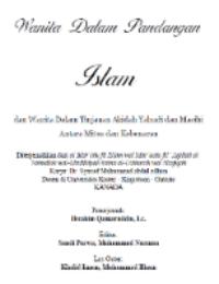 Wanita Dalam Pandangan Islam Wanita Dalam Tinjauan Aqidah Yahudi dan Masehi, Antara Mitos dan Kebenaran