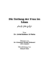 Die Frau im Schutz des Islam