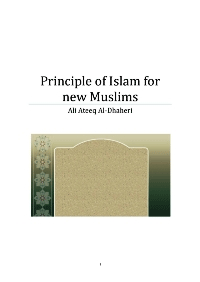 Principle of Islam for new Muslims