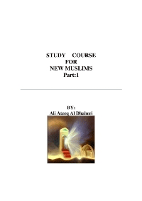 Study Course for New Muslims
