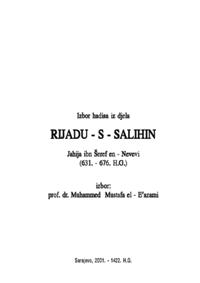 Izabrani hadisi iz knjige Rijadussalihin