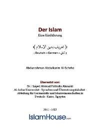 Der Islam – Eine Einführung