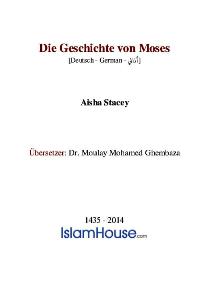 Die Geschichte von Moses