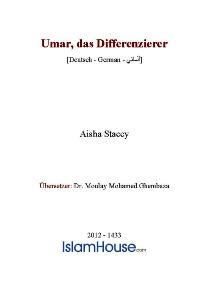 Umar das Differenzierer