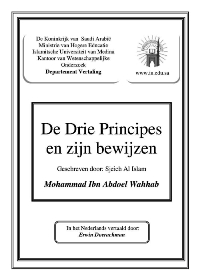 De drie Principes en zijn bewijzen