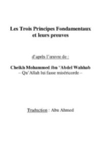 Les trois principes fondamentaux et leurs preuves