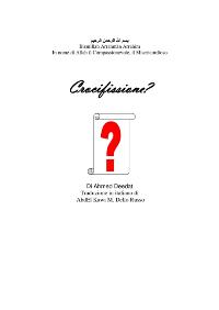 Crocifissione o Crocifinzione