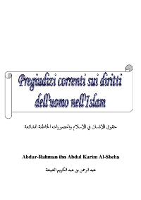 Pregiudizi correnti sui diritti dell'uomo nell'Islam