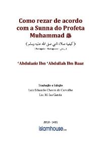 Como rezar de acordo com a Sunna do Profeta Muhammad