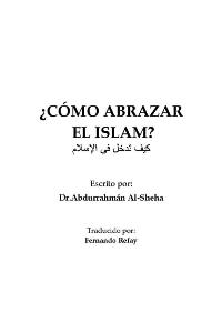 Cómo abrazar el Islam