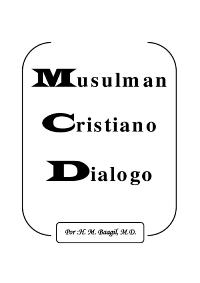 Diálogo Cristiano – Musulmán