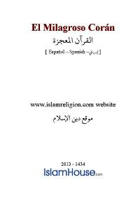 El Milagroso Coran