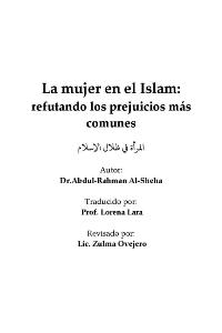 La mujer en el Islam: refutando los prejuicios más comunes