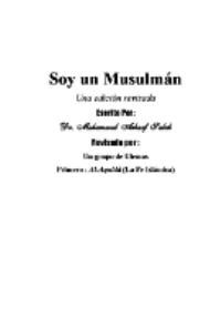 Soy un Musulmán