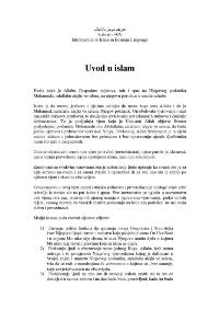 Uvod u islam