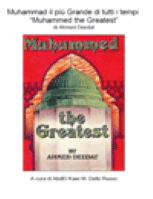 Muhammad il più Grande di tutti i tempi