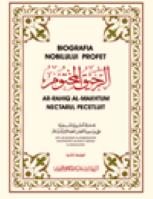 Biografia nobilului profet – nectarul pecetluit