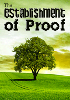 The Establishment of Proof