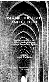 Islamic Thought and Culture