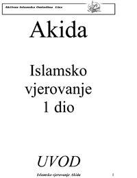 Akida – islamsko vjerovanje