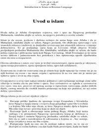 Kratki uvod u Islam