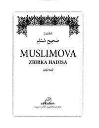 Muslimova zbirka hadisa – sažetak