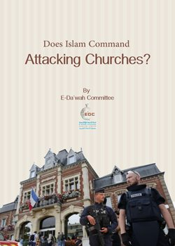 Does Islam Command Attacking Churches-1