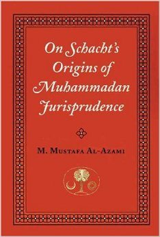 On Schacht's Origins of Muhammadan Jurisprudence