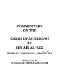 Commentary on the Creed of At-tahawi