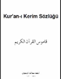 Kur'an-ı Kerim Sözlüğü