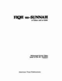 FIQH us-SUNNAH, at-Tahara and as-Salah