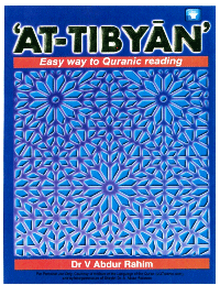 'AT-TIBYAN' Easy way to Quranic reading