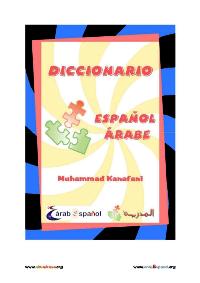 Diccionario Español – Árabe para principiantes