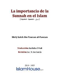 La importancia de la Sunnah en el Islam