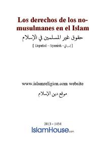 Los derechos de los no-musulmanes en el Islam