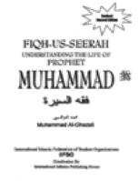FIQH-US-SEERAH UNDERSTANDING THE LIFE OF PROPHET MUHAMMAD