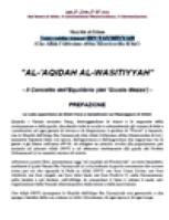 Al-'Aqidah al-Wasitiyyah