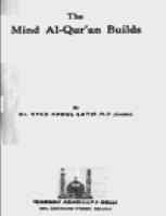 THE MIND AL-QUR'AN BUILDS