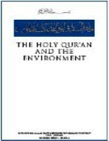 THE HOLY QUR?AN AND THE ENVIRONMENT