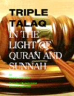 TRIPLE TALAQ IN THE LIGHT OF QURAN AND SUNNAH