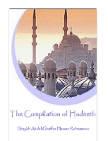 The Compilation of Hadeeth