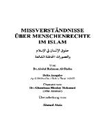 Missverständnisse über Menschenrechte im Islam